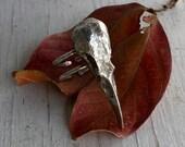Raven Skull Ring Sterling Silver Jewelry Odin's Ravens