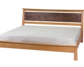 Enso Platform Bed Type II Solid Wood Handmade Organic Finish Contemporary modern asian design full, queen and king sizes