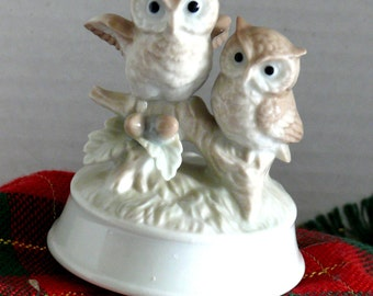 Music Box - Two Owls on a Branch - Otogiri - Close to You