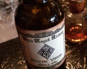 PSYCHIC VISION Oil . Old World Alchemy . Pagan Wicca Witchcraft