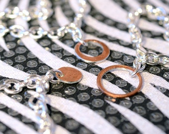 3 Sisters, Three Best Friends Bracelet Set, Mother Daughters, BFF, Coin Jewelry, Penny Charm Bracelet, Togetger We Make Cents, Unique Gift