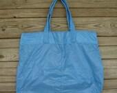 Large Sky Blue Parachute Slider Tote Bag