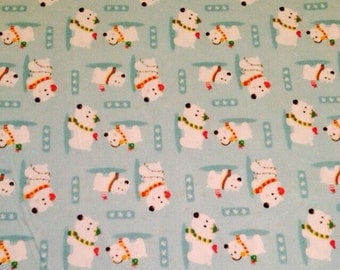 Polar Bear Fabric By The Yard