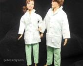 Barbie and Ken Nurse/Doctor Ensemble