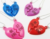 2 Kitschy BFF Necklace (Best Friends Forever) --(D2G1-4)