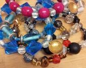 Special set of seven bracelets for Jean Alicia Elster