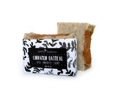 Soap Cinnamon and Oatmeal Soap Bar All Natural Vegan Soap Great for Men and Women