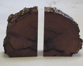 Mesquite Bark Edge Book ends