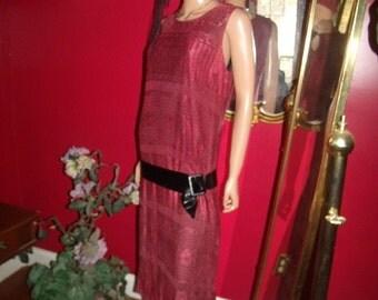 3-pc Set  Handmade Accessory  VTG Flapper Dress Adult Roaring 20style Theme Costume