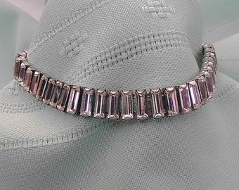 Vintage Crystal Diamond Bracelet