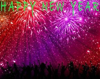 New years backdrop   Etsy