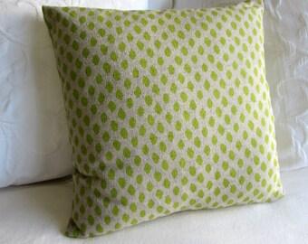 SAHARA HONEYDEW designer fabric pillow cover 18x18 20x20 22x22 24x24 26x26 10x20 12x20 13x26