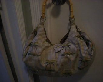 Palm Slouch bag