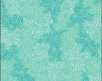 Art Gallery • Nature Elements • Caribbean Blue • Cotton Fabric 0.54yd (0.5m) 002052