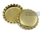 100 Gold Bottlecaps Bottle Cap Bottlecap Caps Silver Embellishment Craft Brand New