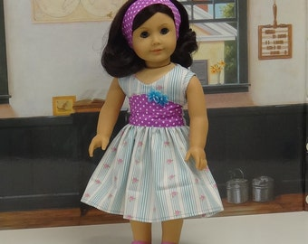 Spring Breeze - Sleeveless Dress for American Girl
