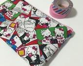 Pencil case / pouch - Hello Kitty comics print