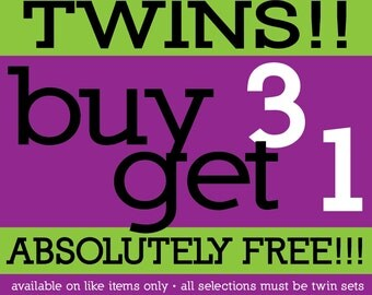 Twins One Piece Bodysuit - BUY 3 GET 1 FREE - Funny Baby Gift