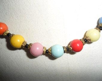 Czechoslovakian Glass Necklace REDUCED PRICE