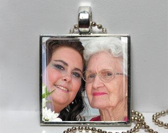 Custom Photo Necklace Pendant