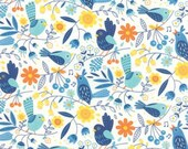 On The Wing in Cloud by Abi Hall 1/2 Yard