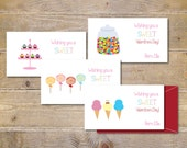 Valentine Cards . Valentine's Day Cards . School Valentine's . Cards for Valentine's Day . Valentine's - Sweet Shoppe