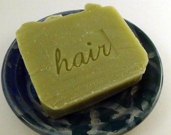 Key Lime Eucalyptus Shampoo Bar -  Vegan Shampoo Bar with French Green Clay