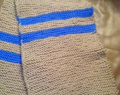 KNITTING PATTERN ONLY Harry Potter - Ravenclaw inspired scarf. 6ft. long by 9 inches wide