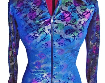 Velvet Crush ANY SIZE Women's or Girl's horse show shirt, rodeo queen clothing showmanship rail jacket!