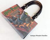 Harry Potter and the Prisoner Of Azkaban Book Purse - Choose Your Handle - Harry Potter Book Clutch - Book Cover Handbag