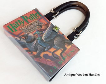 Harry Potter and the Prisoner Of Azkaban Book Purse - Choose Your Handle - Harry Potter Book Clutch - Book Cover Handbag
