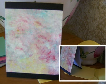 abstract art card set