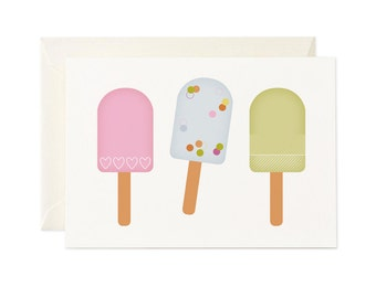Ice Blocks blank greeting card - Any occasion gift card