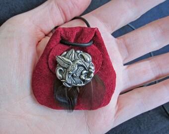Custom Order Spirit Animal Amulets, Handmade Animal Totem Medicine Bag