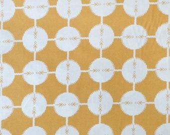 SALE. FQ  quilting cotton Anna Maria Horner Field Study Coordinates saffron