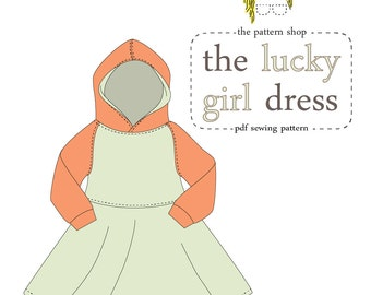 Lucky Girl Dress PDF Sewing Pattern