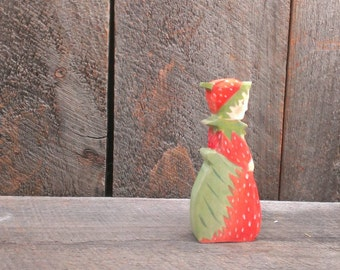 mrs strawberry waldorf doll / elsa beskow /  Nature Table -