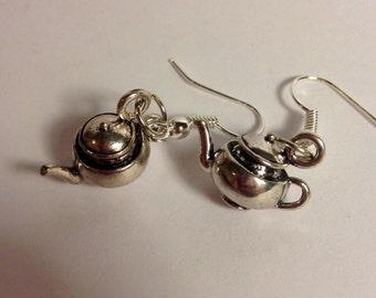 Teapot Earrings (sisterhood, community)