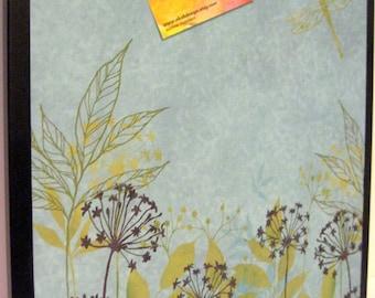 Magnet Dry Erase Memo Board / Housewarming Gift / Office Decor / Organization / Desk / Coworker Gift / Message Bulletin Board / Wall Decor