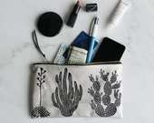 Cactus Pouch - Soft Leather