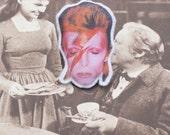 Ziggy Stardust Brooch
