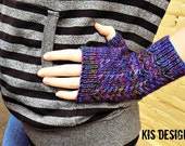 We Are Shining Knitted Fingerless Gloves Pattern Download