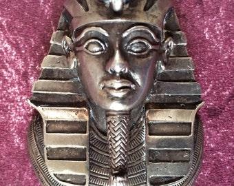 mask of Tutankhamun  in sterling silver late 1930s