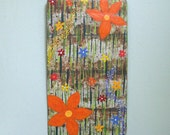 Sale art wall painting recycled metal abstract wall decor