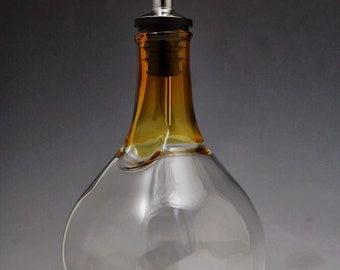 Honey Yellow Olive Oil Bottle