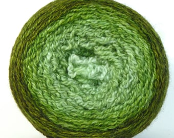 Pounce 2ply BFL Fingering Gradient Shawl Maki - Low