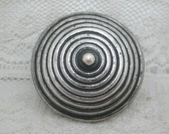 Los Castillo Sterling Silver Taxco Mexico Button #3