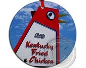 Big Chicken, Marietta, Atlanta Neighbourhoods,Icons and Landmarks, Double Sided Ornament / Gift Tag