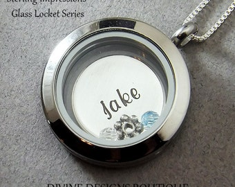 Locket Necklace - Personalized Jewelry - Pendant Necklace