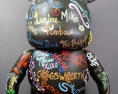 "Custom Order Painted Autograph 9"" Vinylmation"